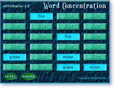 Word Concentration